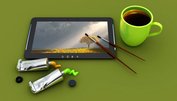 Digital-Painting-tablet
