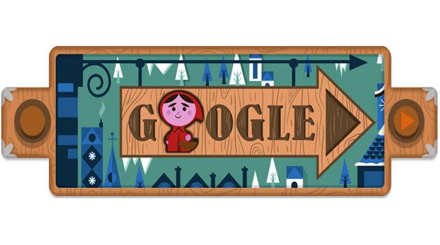 Le Fiabe dei Fratelli Grimm nel doodle di Google