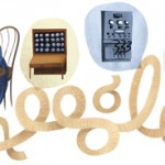 Ada Lovelace Google doodle 2012
