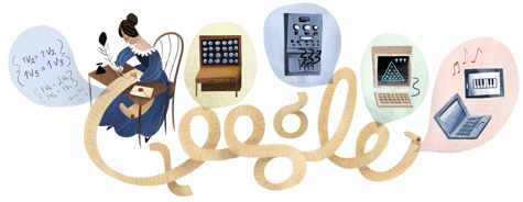 Ada Lovelace, il doodle di Google è per la mamma del computer