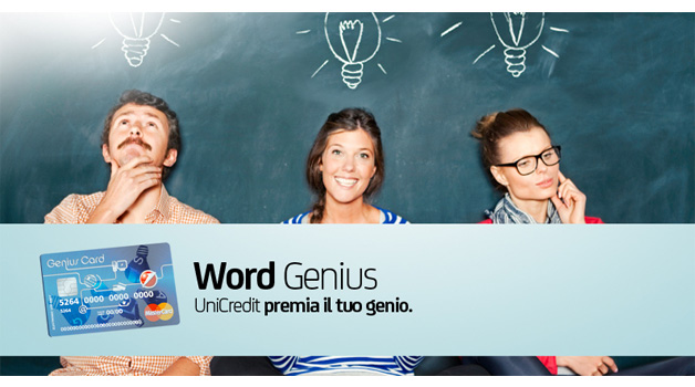 Word Genius, il concorso di UniCredit che ti premia su Facebook