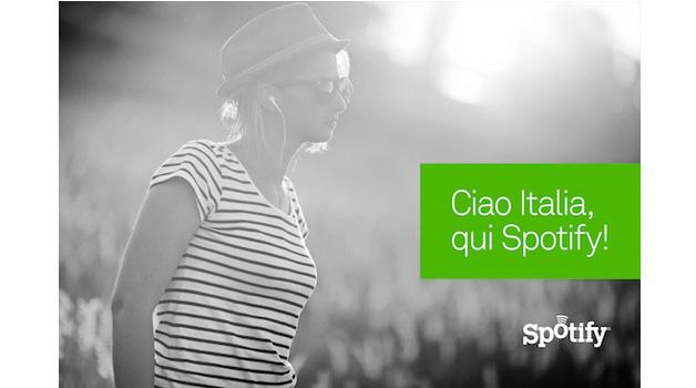 La musica social di Spotify arriva in Italia