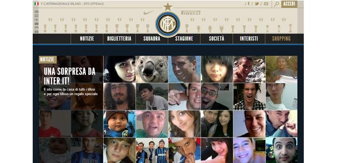 E' online il nuovo sito dell'Inter