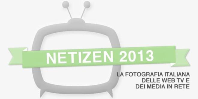 Netizen 2013, la mappa delle web tv in Italia [Infografica]
