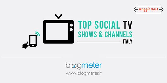 Social Tv, i Talent a maggio rubano la scena a tutti [Infografica]