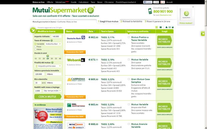 MutuiSupermarket.it