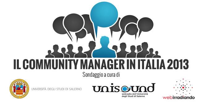 Ecco il profilo del Community Manager in Italia nel 2013