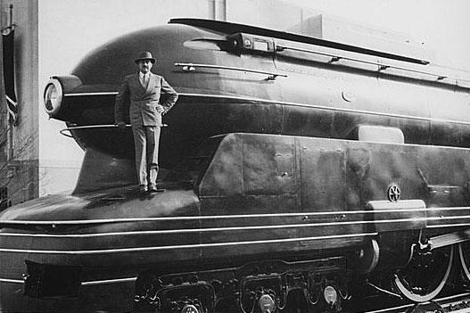 Raymond Loewy prr locomotive s1