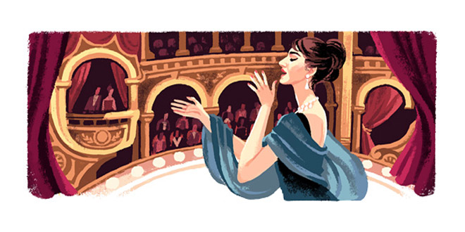 Google-doodle-Maria-Callas