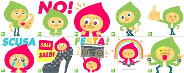 LINE-stickers-Mauro-Gatti