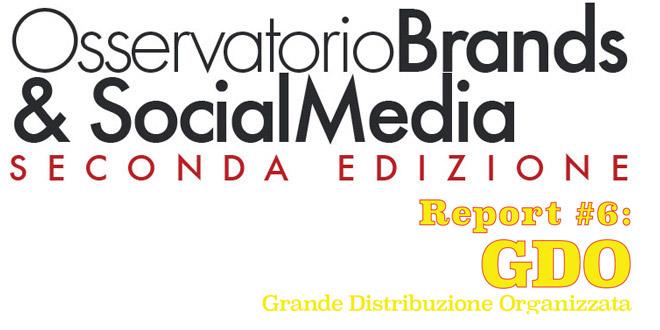 Brands & Social Media, analisi del settore GDO in Italia [Infografica]