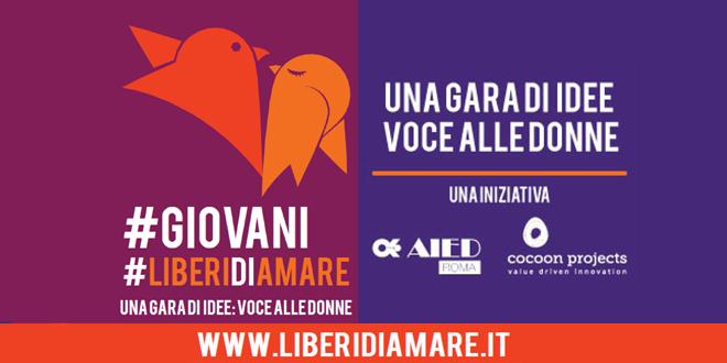 Parte oggi il contest #Giovani #LiberiDiAmare, una gara di idee