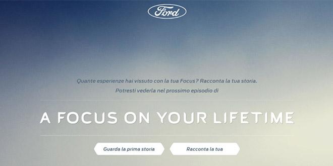 Una Focus è per la vita e il protagonista sei tu!