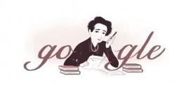 Google dedica il doodle di oggi a Hannah Arendt