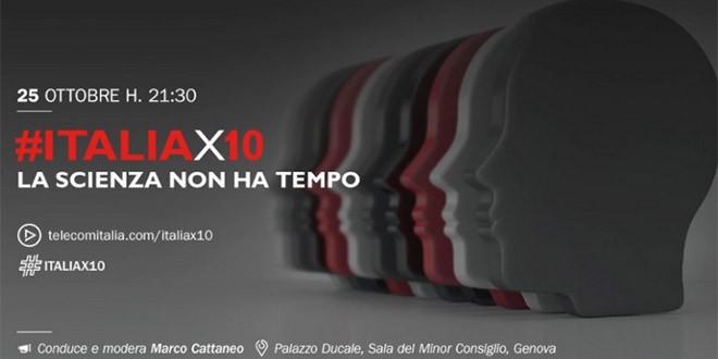#ITALIAX10 e ScienzainWeb [Live Streaming]