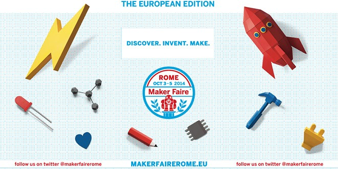 Maker Faire Rome 2014, 20 under 20 in Live Streaming