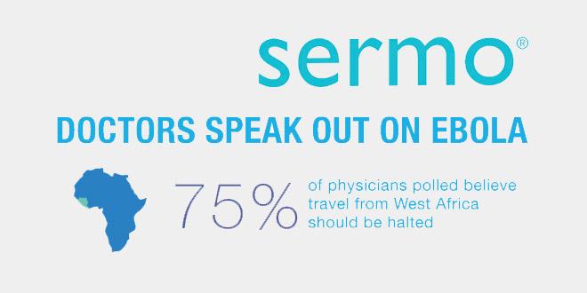 In un sondaggio di Sermo, i medici Usa si dicono preoccupati per l'Ebola