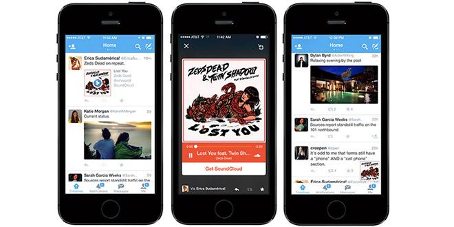 Twitter Audio Card, la musica arriva sulla timeline