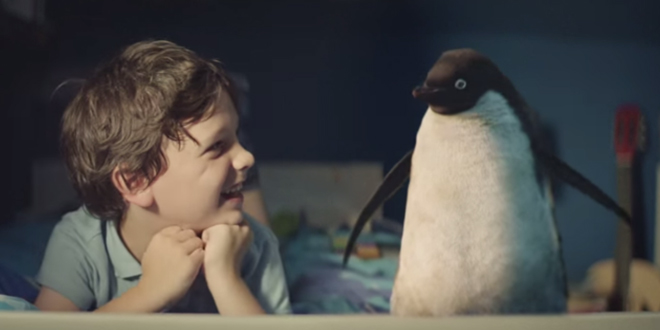 Monty the Penguin, quando l'adv emoziona [Video]