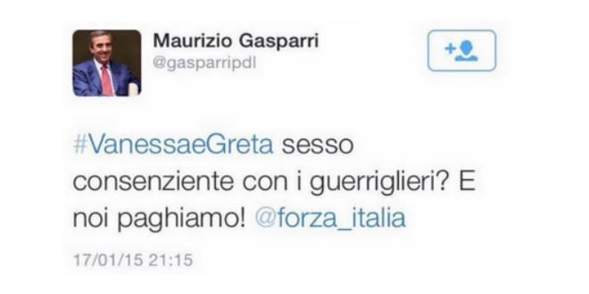 #GasparriFuoriDaTwitter, la protesta corre su Twitter