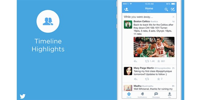 Twitter, While You Were Away disponibile per iOS