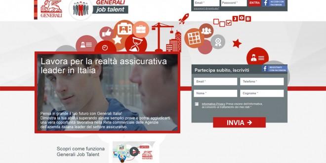 Generali Italia avvia le selezioni digitali con #GeneraliJobTalent