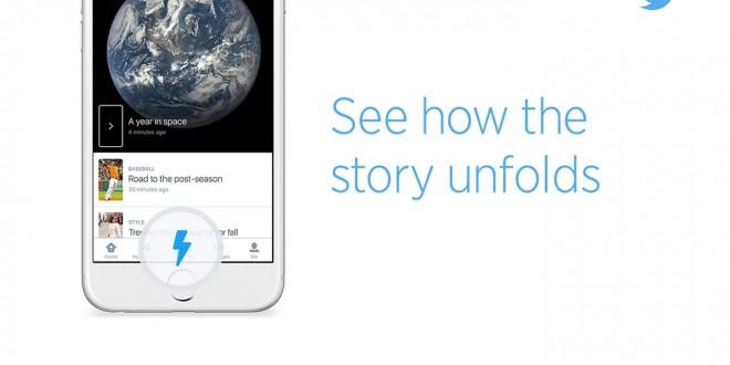 E finalmente Twitter Momenti è disponibile anche in Italia