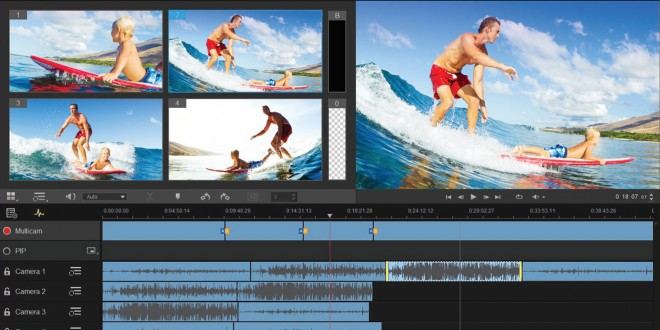 Con Pinnacle Studio 19 il video editing è di qualità professionale