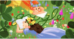 Lucy Maud Montgomery-google-doodle