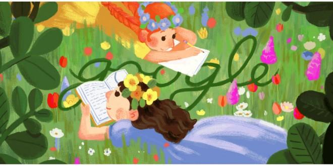 Il doodle di Google oggi è per Lucy Maud Montgomery