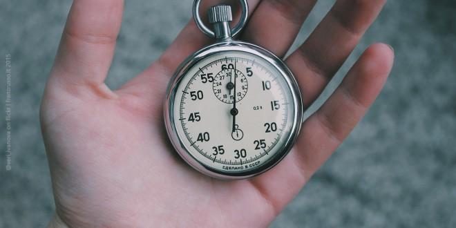 Il Tempo: la risorsa più rara e preziosa sul Web