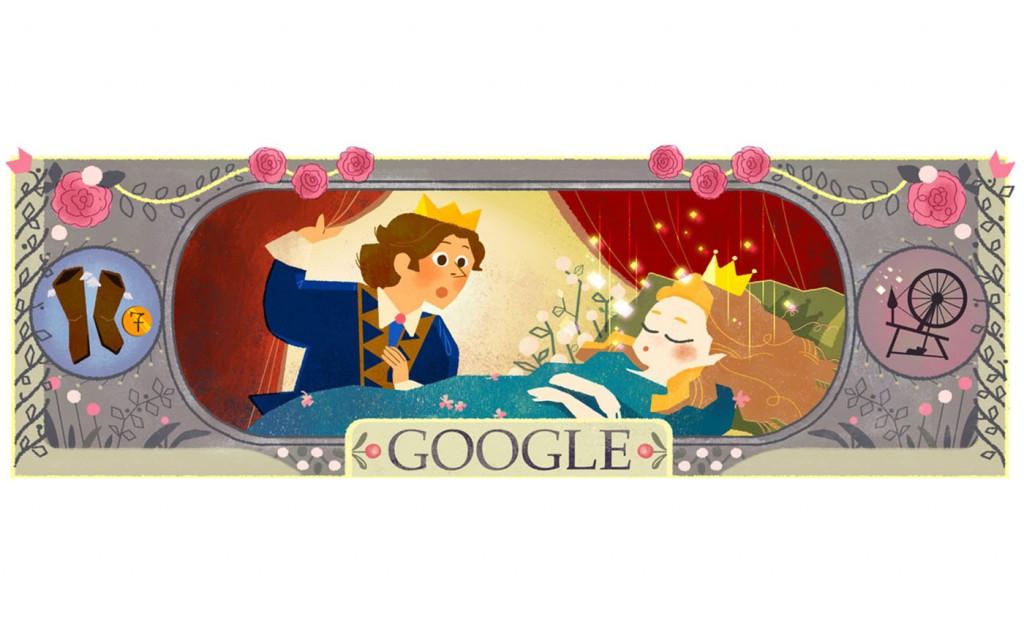 charles perrault doodle google