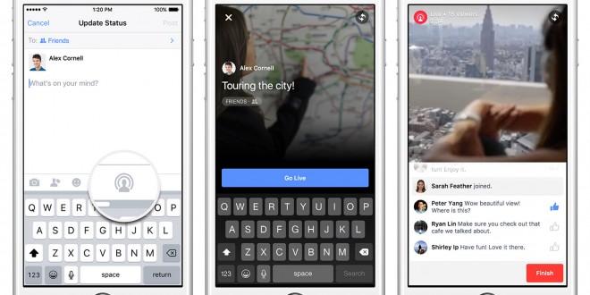 live video Facebook iOS Usa