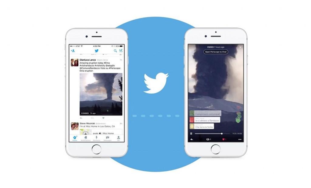 periscope integrazione twitter ios