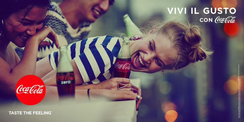 taste the feeling coca-cola
