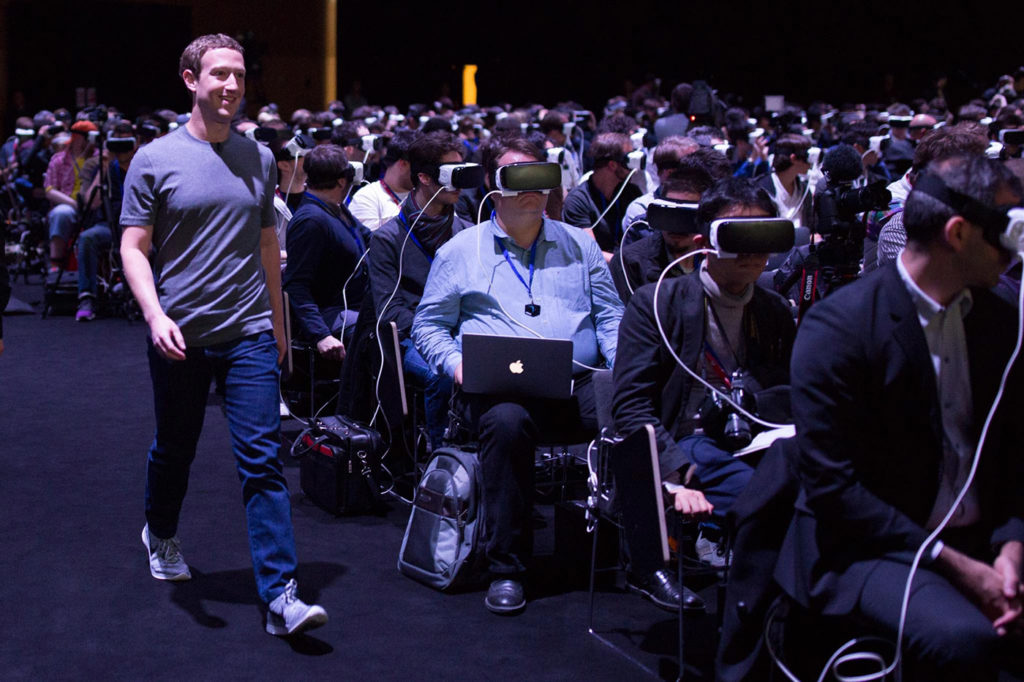 Zuckerberg realtà virtuale