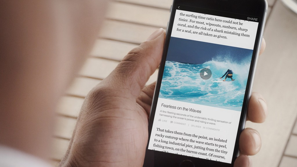 facebook instant articles blog