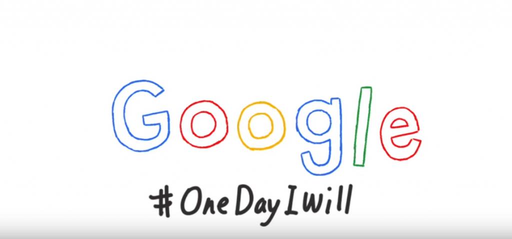 goog doodle giornata donna 2016 #onedayiwill