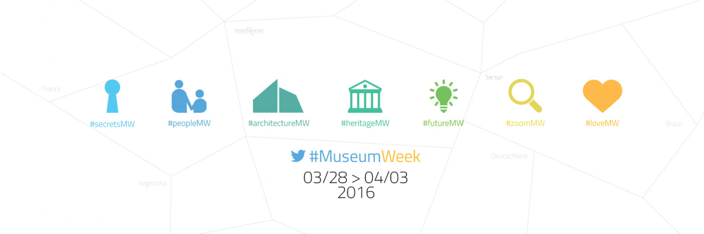 #museumweek 2016 cover