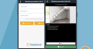 Fazland, l'app che rivoluziona il mondo dei preventivi da mobile