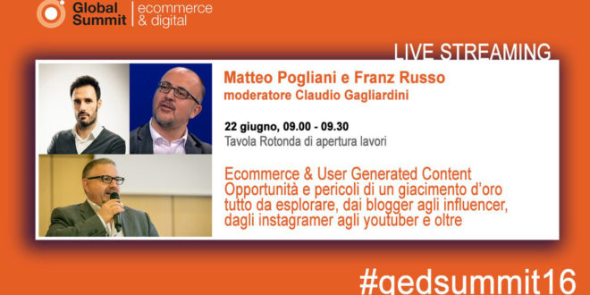 GED Summit 2016, tra E-commerce e Influencer Marketing