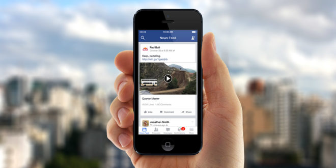 facebook contenuto video