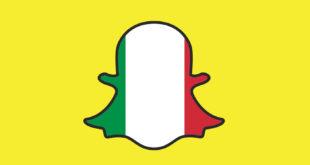 snapchat italia uso comportamento franzrusso.it 2016