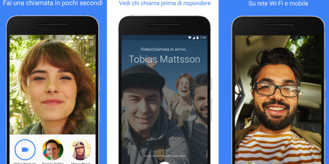 Google Duo, in pochi giorni 5 milioni di download su Android
