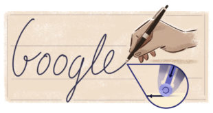 google doodle biro
