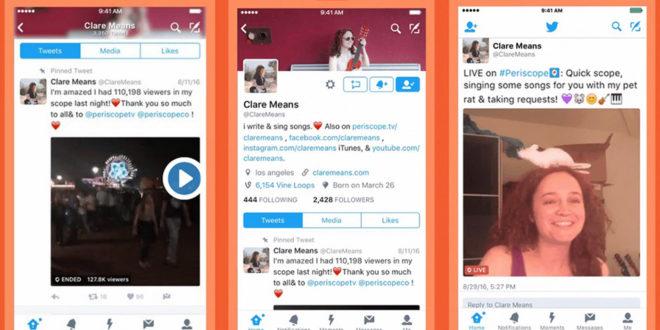 Twitter: attiva la notifica quando un account è live su Periscope