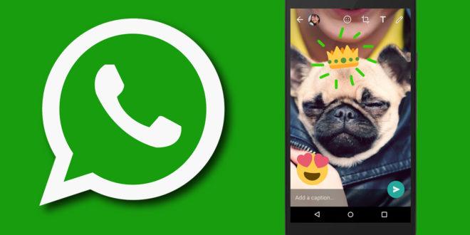 WhatsApp, nuove funzionalità della fotocamera e emoji su foto e video