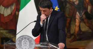 renzi referendum social media