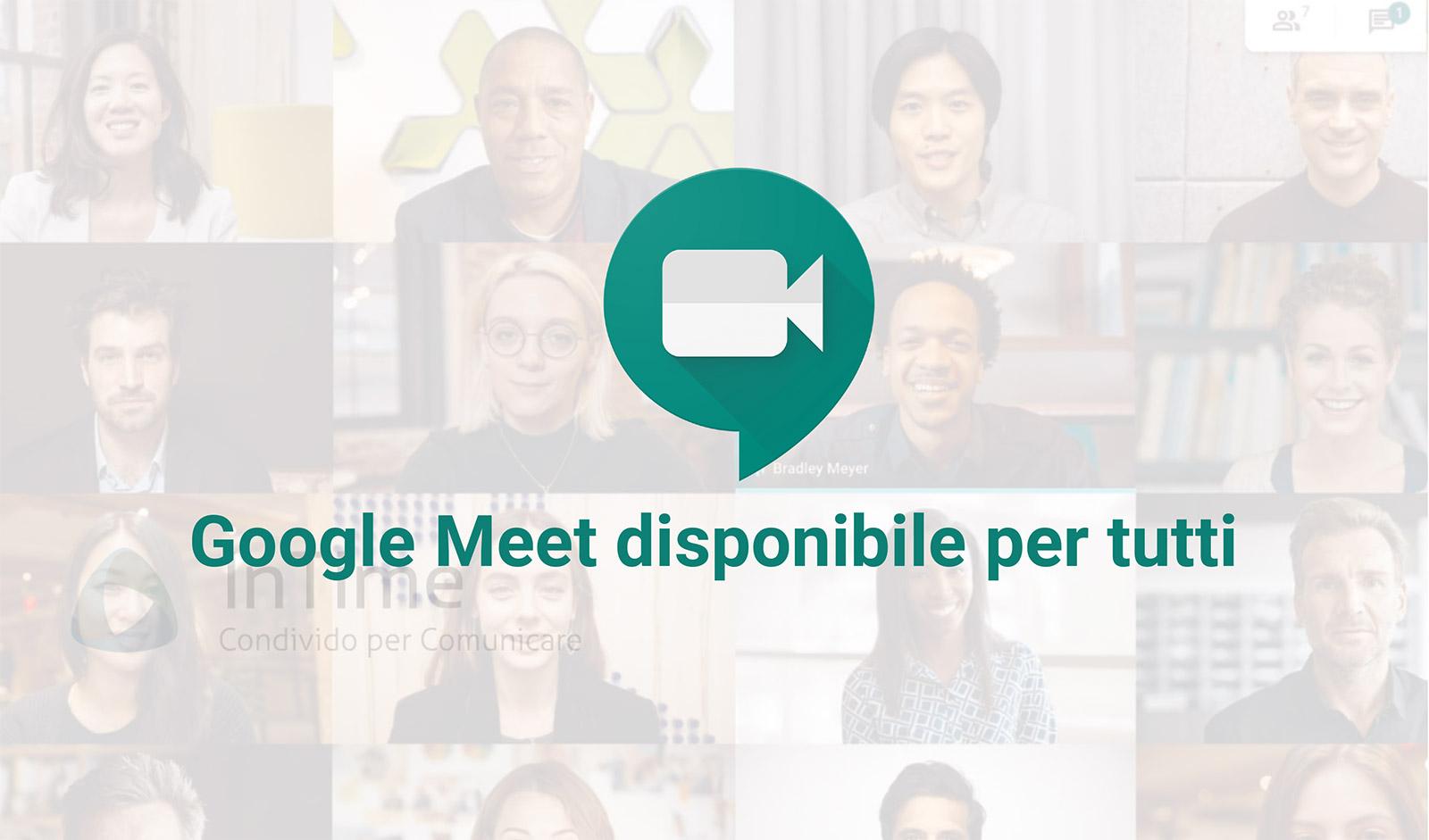 Coronavirus: Google Meet ha 3 milioni di nuovi utenti al giorno