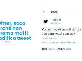 twitter modifica tweet mascherine franzrusso.it-2020